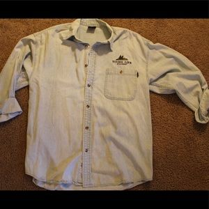 Vintage Young-life Chambray button down